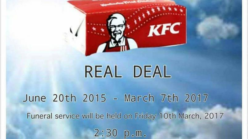 Trinis take to social media to mourn the loss of the KFC