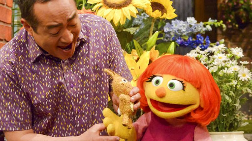 Sesame Street puts autism in the spotlight with new puppet