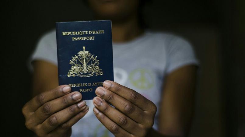 Bureau des passeports annuels page